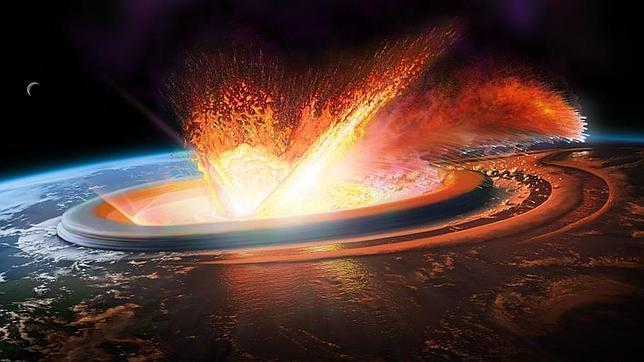 Caida de asteroides
