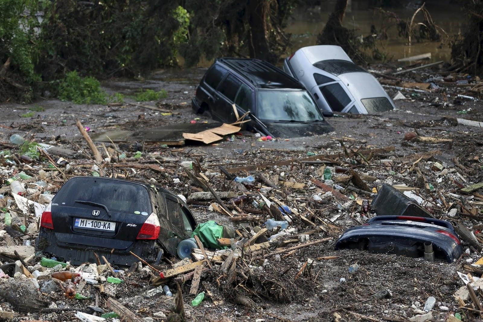 Inundaciones en Georgia