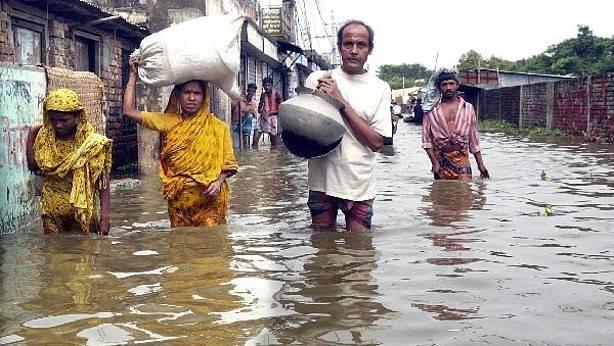 Inundaciones en la India 3