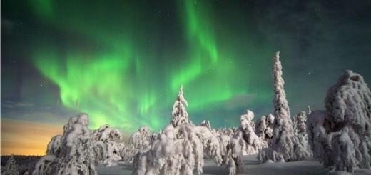 Laponia y las auroras