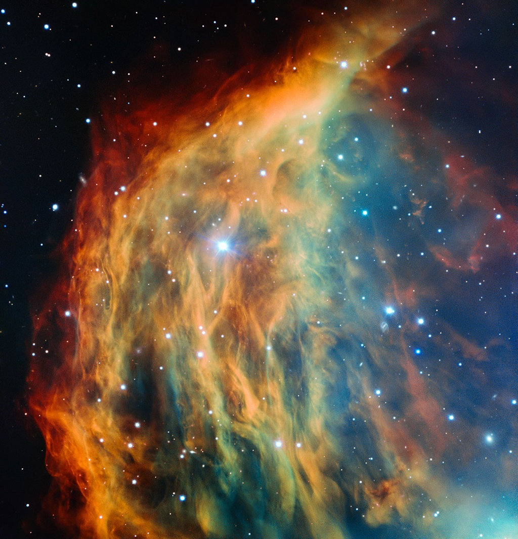 ESO's Very Large Telescope in Chile has captured the most detailed image ever taken of the Medusa Nebula (also known Abell 21 and Sharpless 2-274). As the star at the heart of this nebula made its final transition into retirement, it shed its outer layers into space, forming this colourful cloud. The image foreshadows the final fate of the Sun, which will eventually also become an object of this kind.