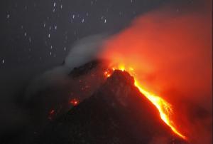 Monte Sinabung 4