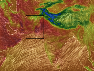 Temperatura en Pakistan