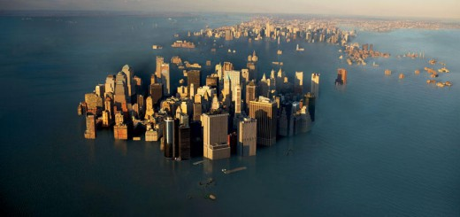 Tierra inundada