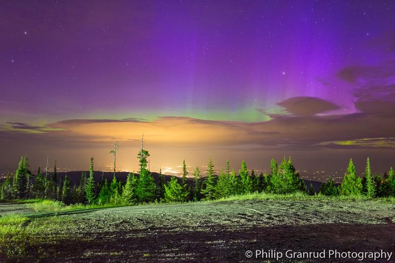 Auroras boreales de Julio 2015 2