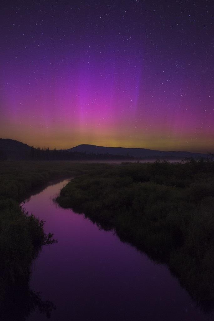 Auroras boreales de Julio 2015