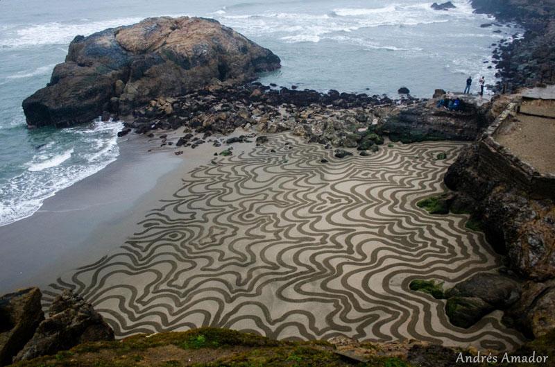 Dibujos en las Playas