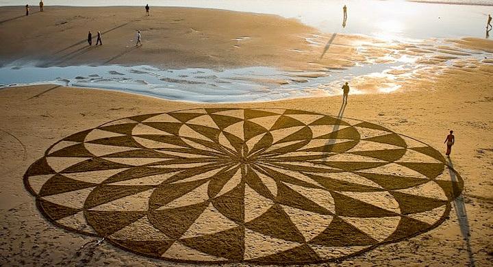 Dibujos en playas de San Francisco 2