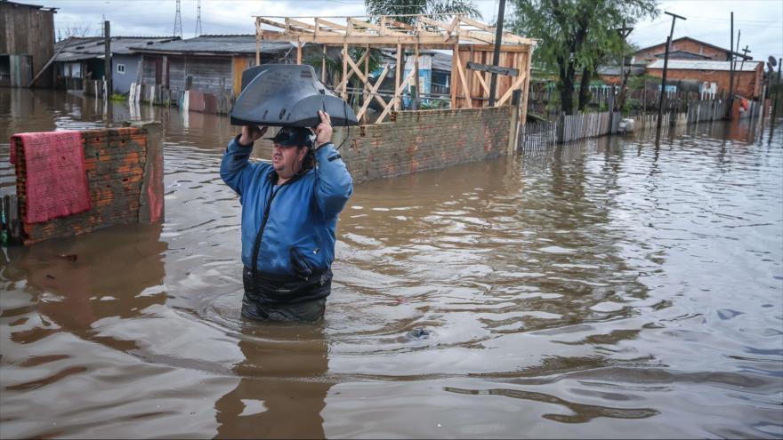 Inundacion al sur de Brasil 1