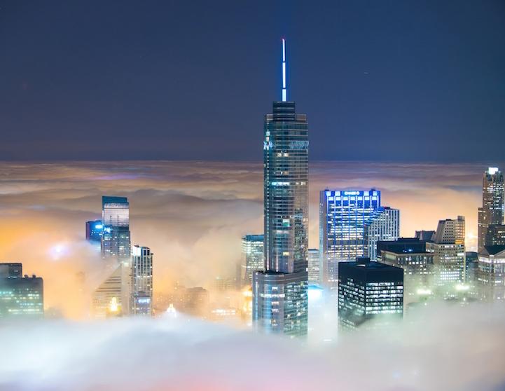 Niebla sobre Chicago por Peter Tsai 2