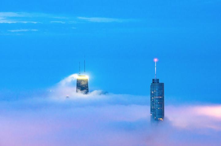 Niebla sobre Chicago por Peter Tsai 7