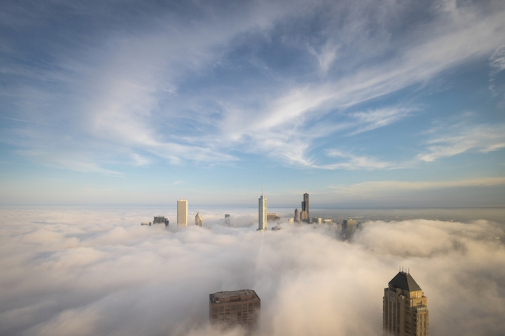 Niebla sobre Chicago por Peter Tsai 9