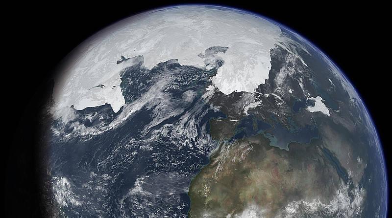 Planeta y el Artico
