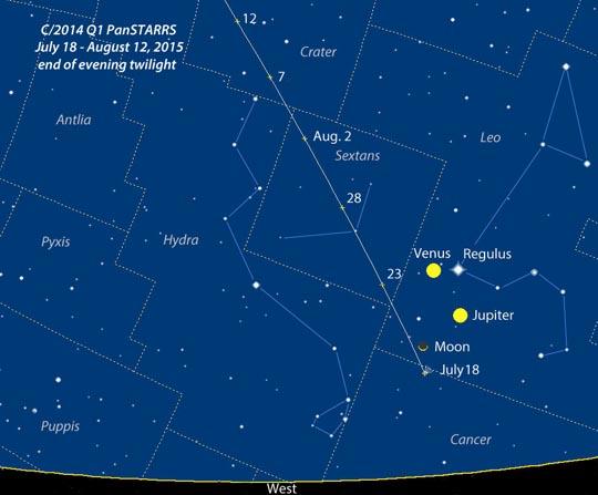 cometa2014q1_panstarrs_carta
