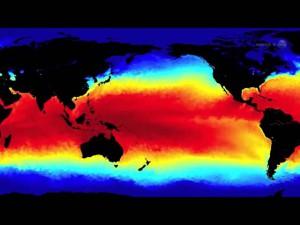 Calentamiento oceanico