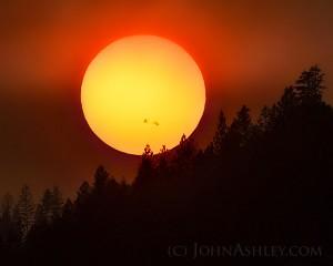 El Sol con Manchas