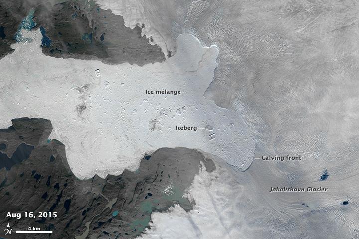 Glaciar jakobshavn 4
