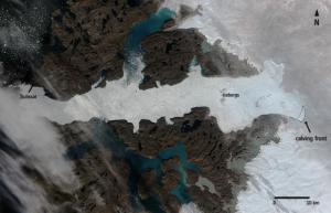 Glaciar jakobshavn2