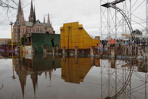 Lluvias en Buenos Aires