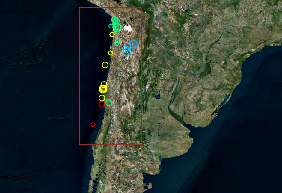 Sismos Chile