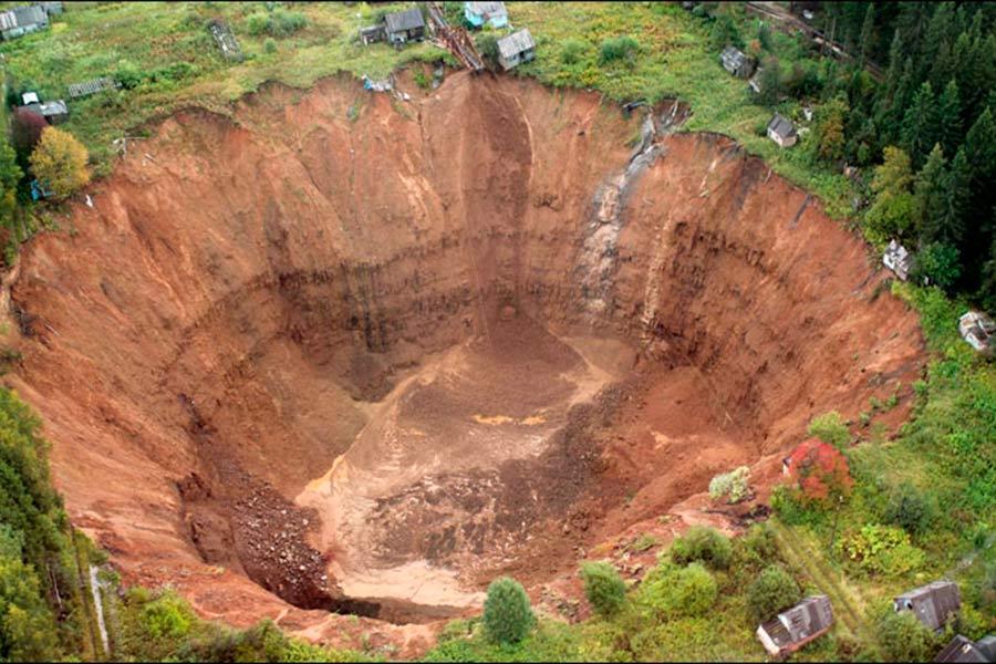 El gran crater de Rusia 2