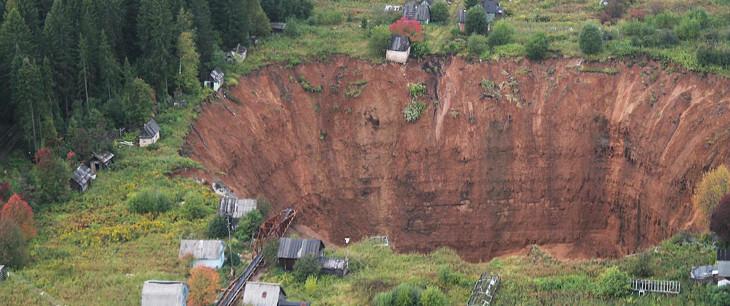El gran crater de Rusia 3