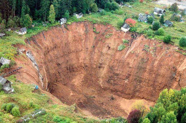 El gran crater de Rusia 4