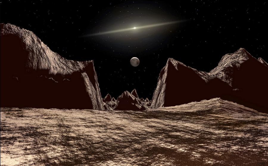 Imagenes ineditas recreadas de la superficie de Pluton 2