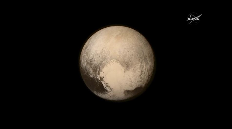 Imagenes ineditas recreadas de la superficie de Pluton 5
