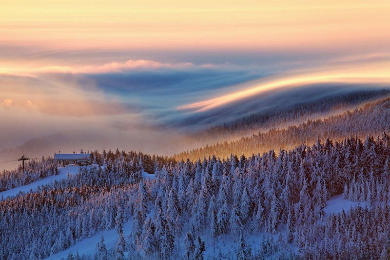 Niebla y mar de Nubes 3