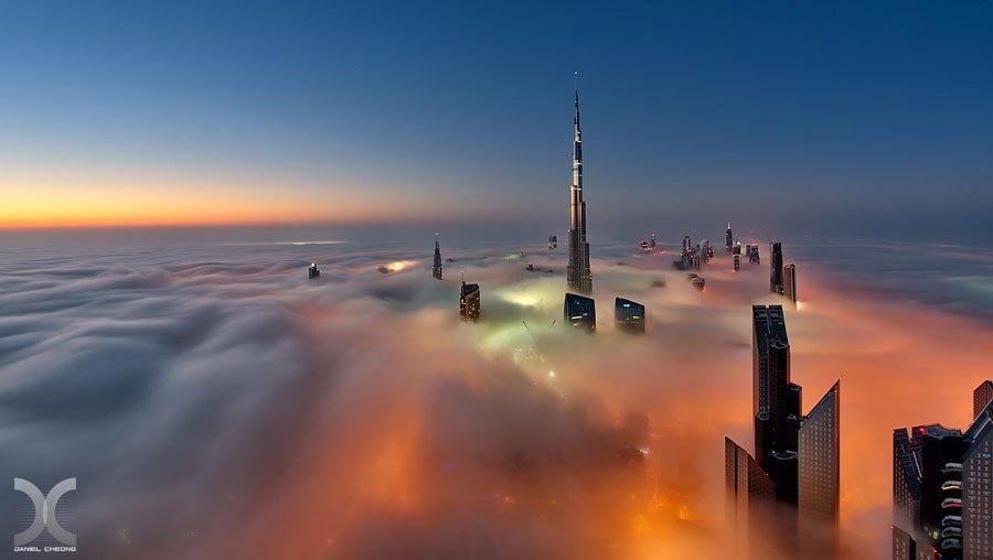 Niebla y mar de Nubes 4