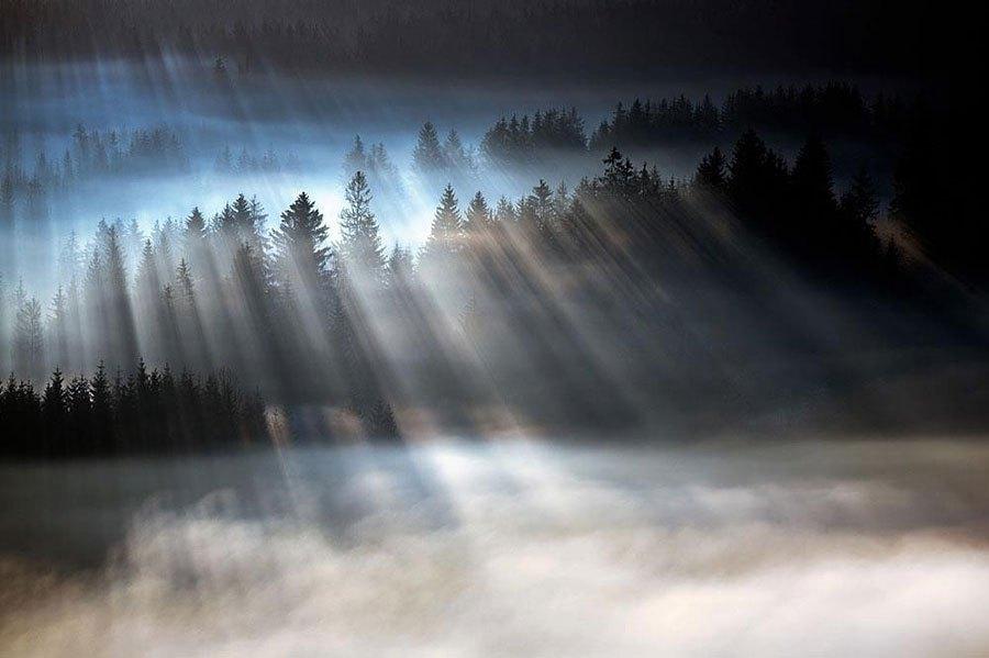 Niebla y mar de Nubes
