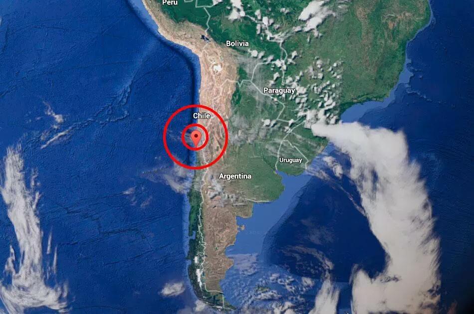 Sismo en Chile