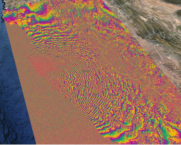 Tierra desplazada en Chile