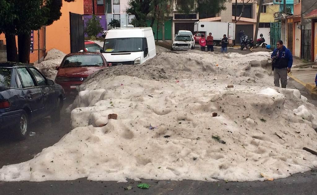 Tormenta de Granizo en Mexico