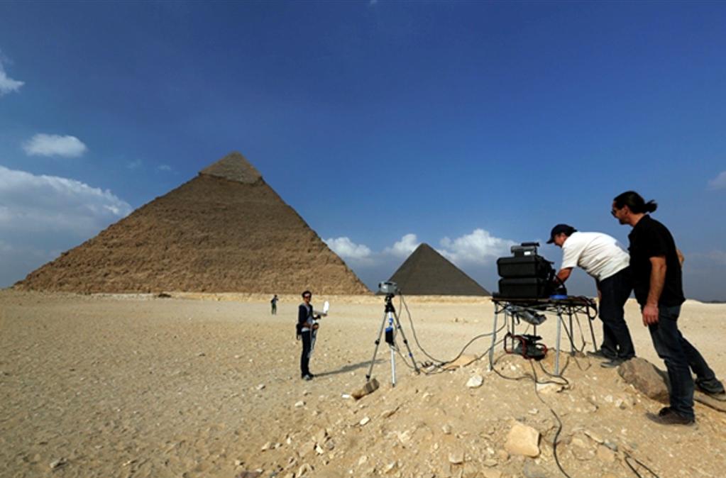 Anomalias termica en la piramide 1
