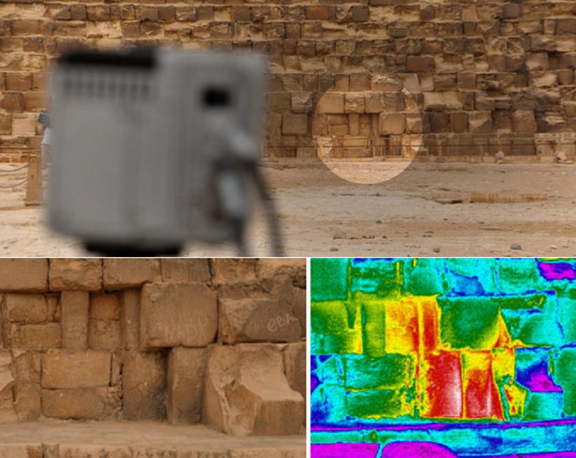 Anomalias termica en la piramide