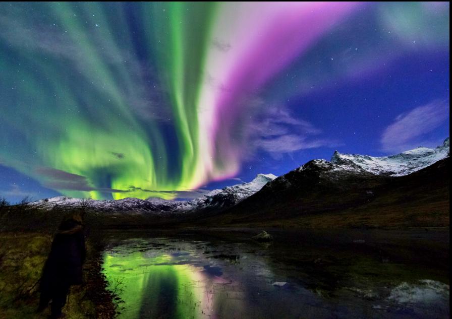 Intensa actividad geomagnética en el círculo polar ártico