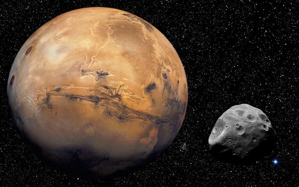 mars+and+phobos