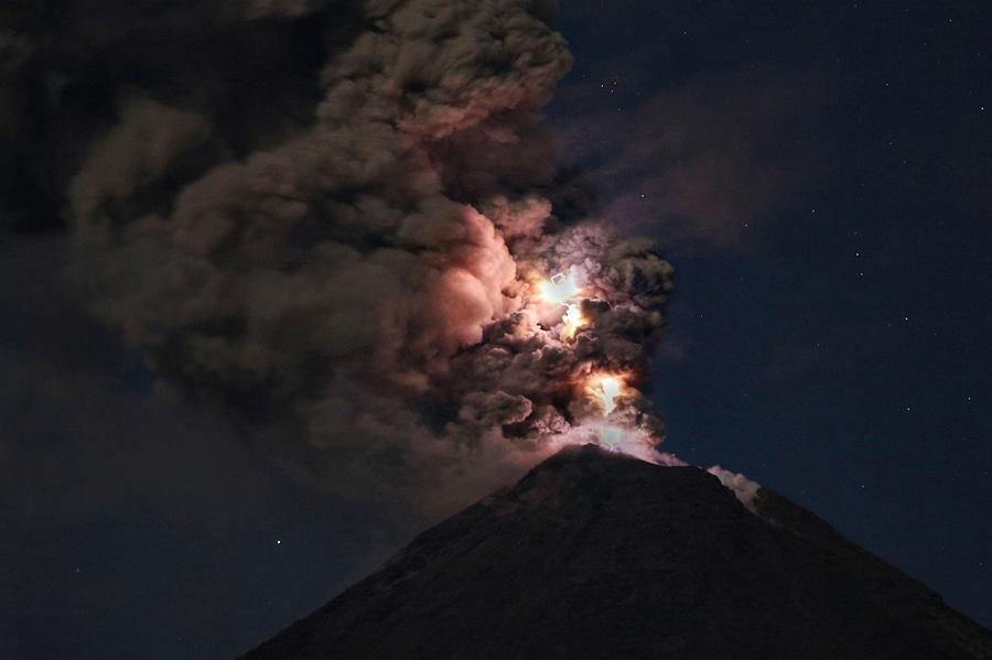 volcan de Colima 1