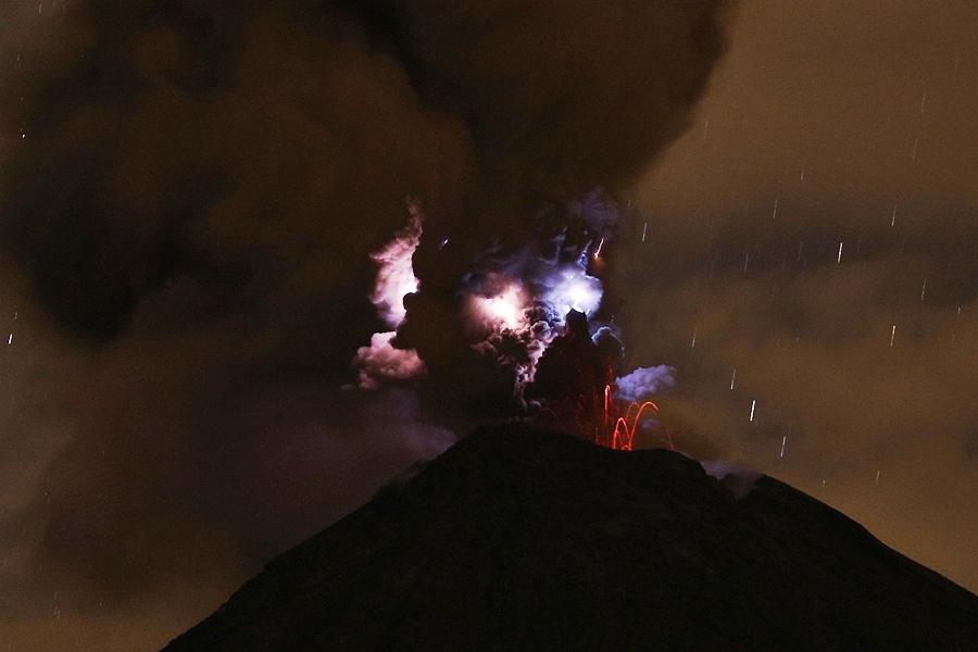 volcan de Colima 2