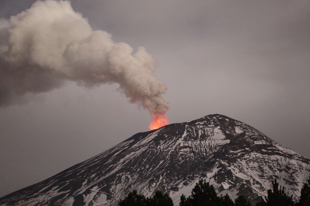 Actividad volcanica del Popocatepetl  5