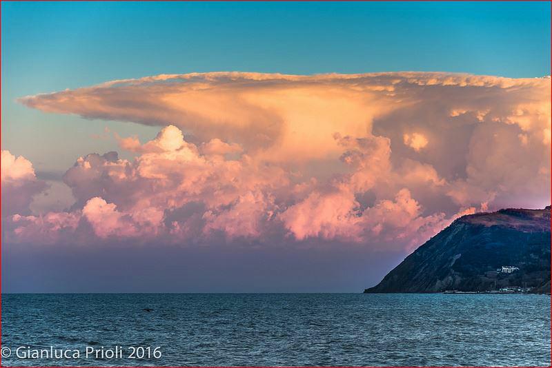 Cumulonimbus en Italia 2