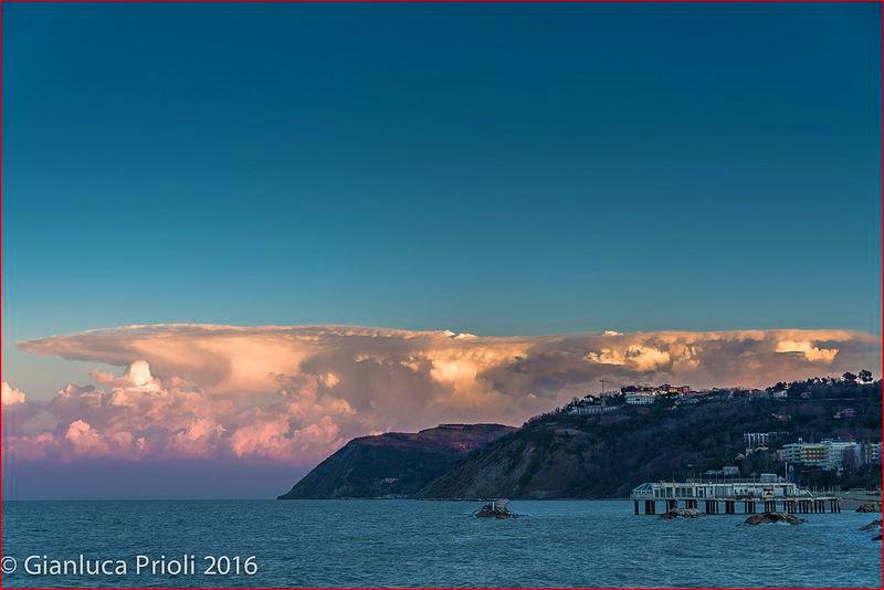 Cumulonimbus en Italia 3