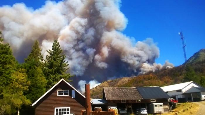 Incendio en Parque los Alerces 1
