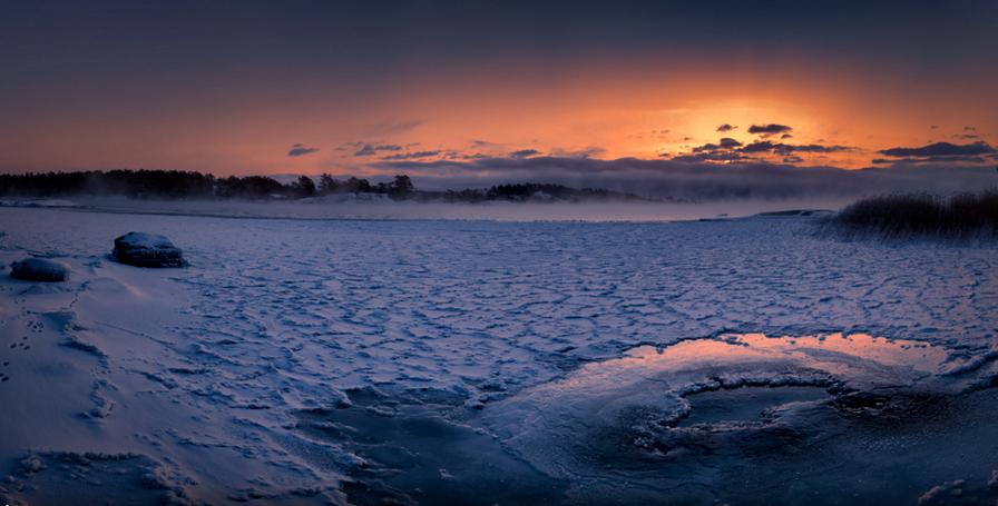 Lago congelado, Finlandia 3