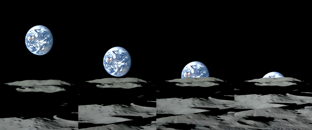 Luna- Tierra