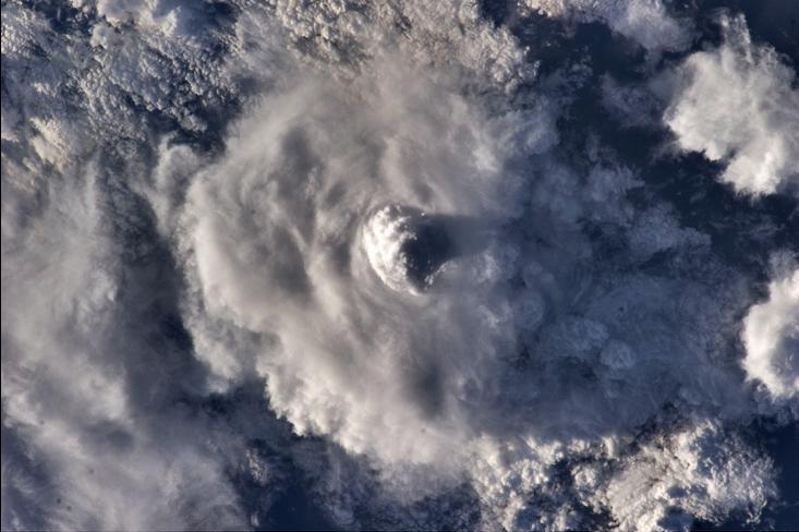 Nubes desde el espacio
