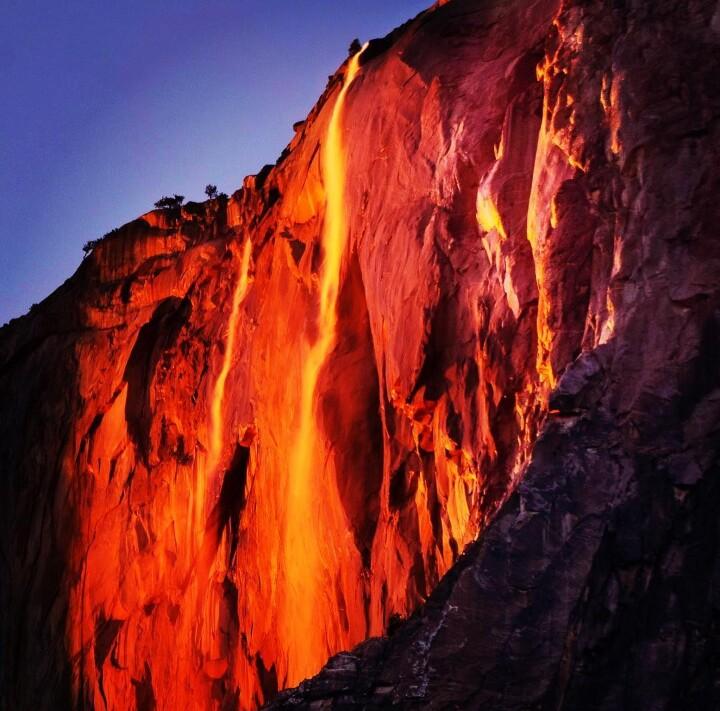 Cascada de fuego 3