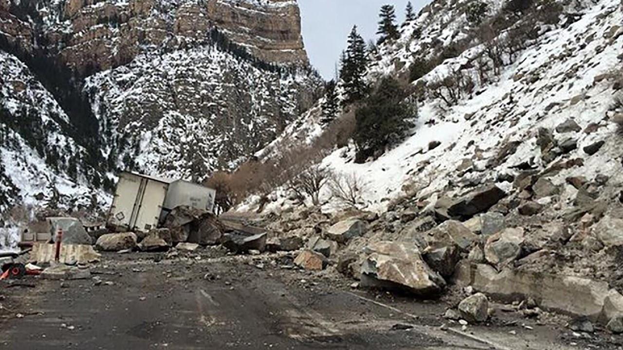 Deslizamiento de Roca en Colorado 2